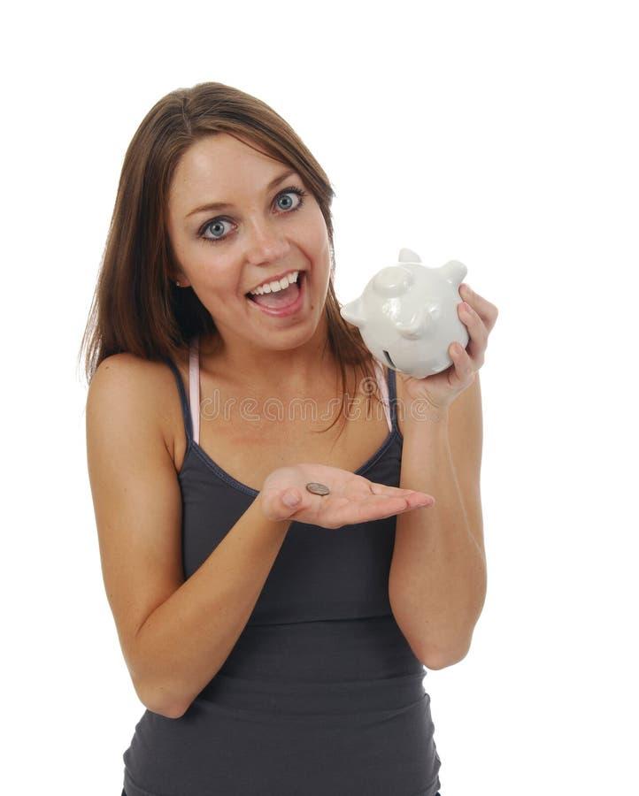 Download Economias imagem de stock. Imagem de sorrir, dinheiro - 10066429