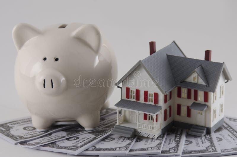 Economias da hipoteca imagens de stock royalty free