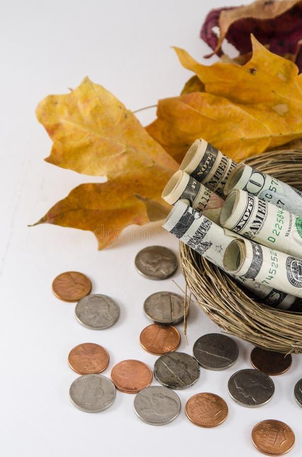 Economias da queda fotos de stock royalty free