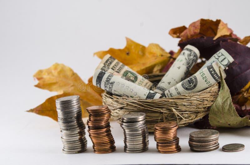 Economias da queda imagens de stock royalty free