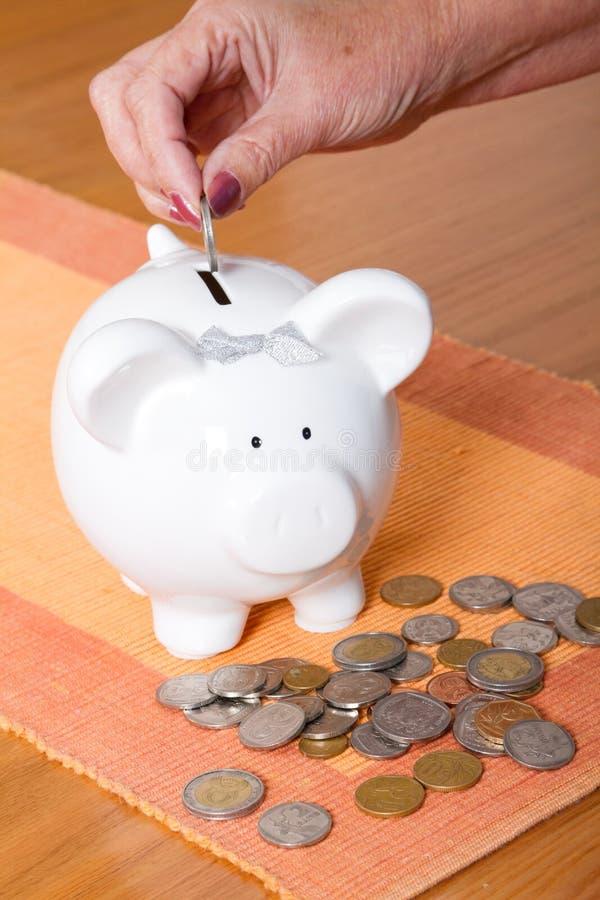 Economias de Piggybank foto de stock