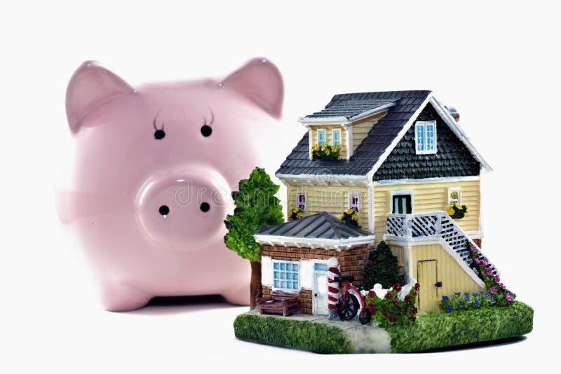 Economias dos bens imobiliários foto de stock royalty free