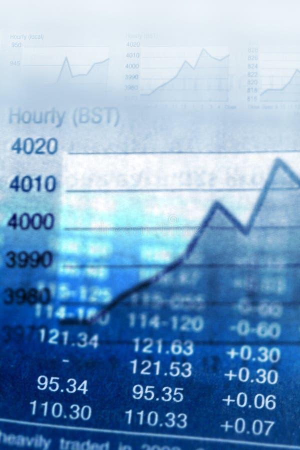 Economic background. Business metaphor: diagram on financial report, economic background