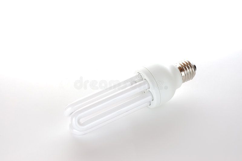 Download Economic bulb stock image. Image of lamp, efficient, tube - 4534451