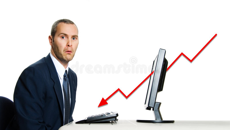 Economic Crisis royalty free stock photography