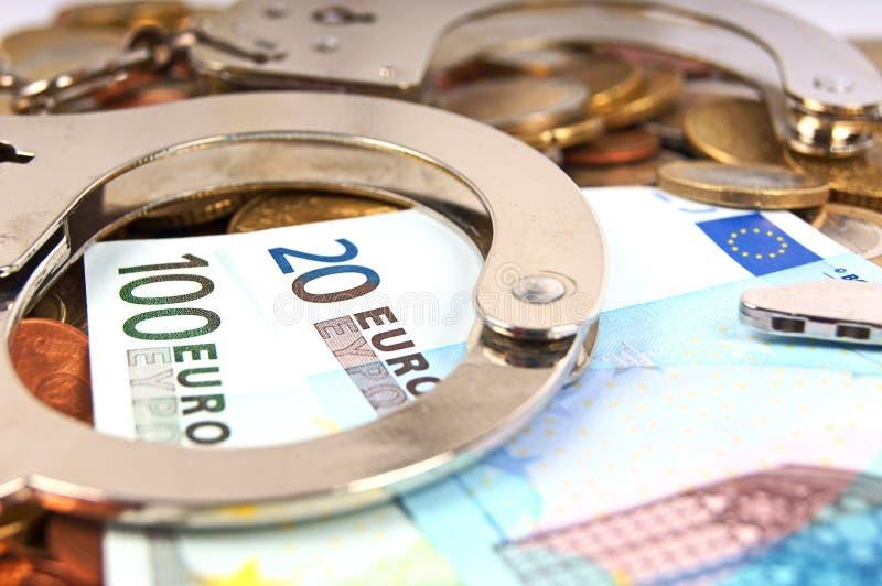 Economic fraud stock photos