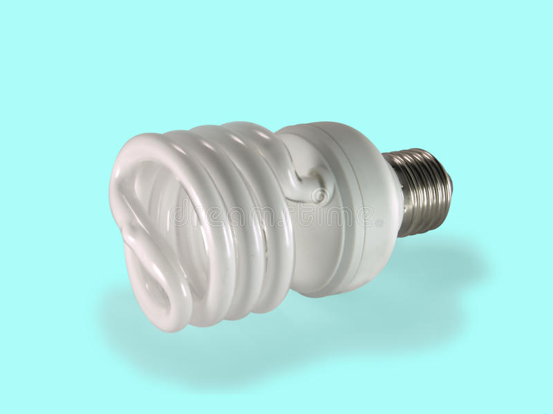 Download Economical Fluorescent Lamp. Stock Image - Image: 14850081