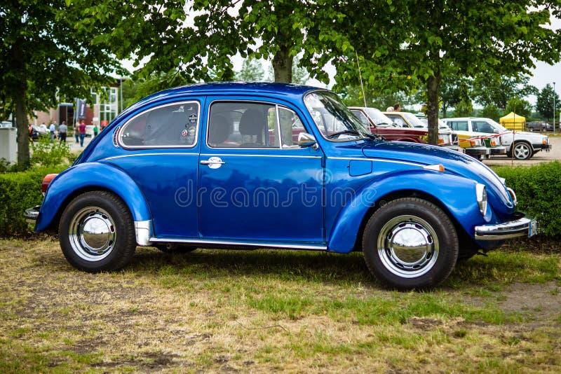 Economieauto Volkswagen Beetle, 1973 stock afbeelding