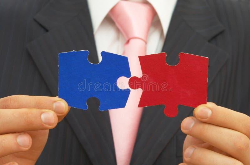 Economisch besluit stock foto