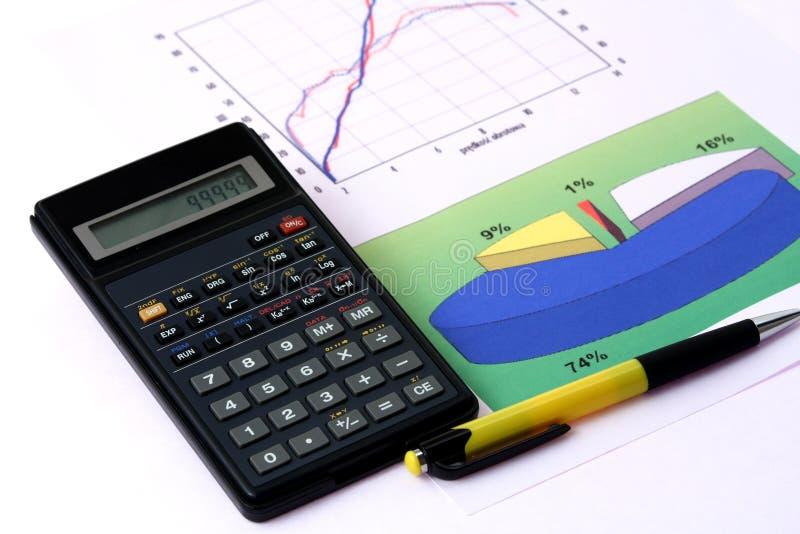 Economische analyse stock foto