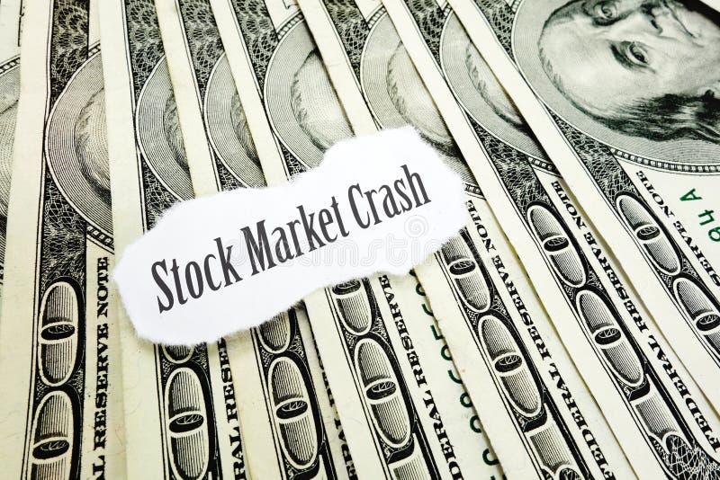 Economische Daling royalty-vrije stock foto