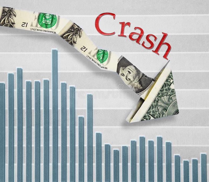 Economische Daling stock afbeeldingen
