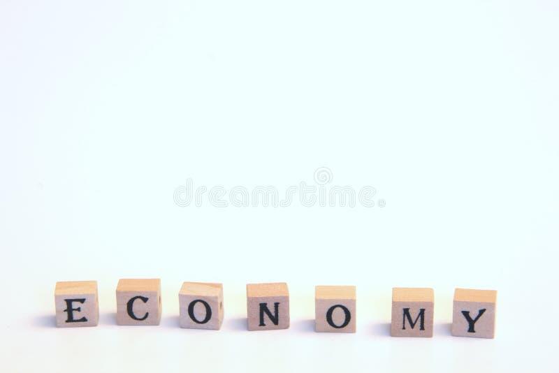Economy background stock image