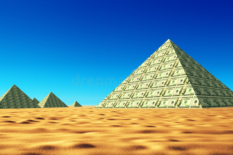 Download Economy concept stock illustration. Image of idea, desert - 9148565