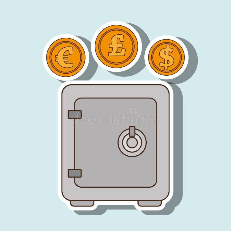 Economy concept design. Illustration eps10 graphic stock illustration