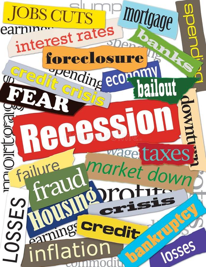 Free Economy & Recession Montage Stock Photos - 8588103