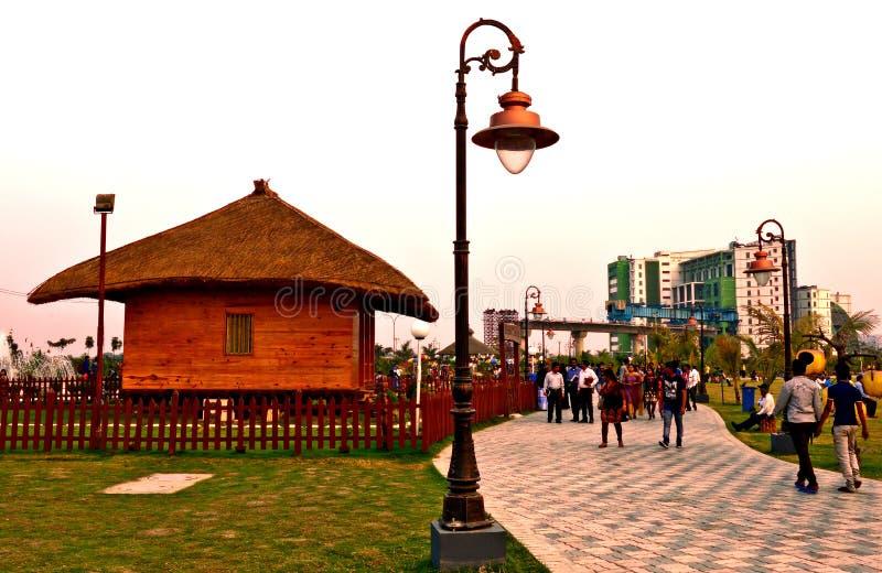 Ecopark royalty-vrije stock foto