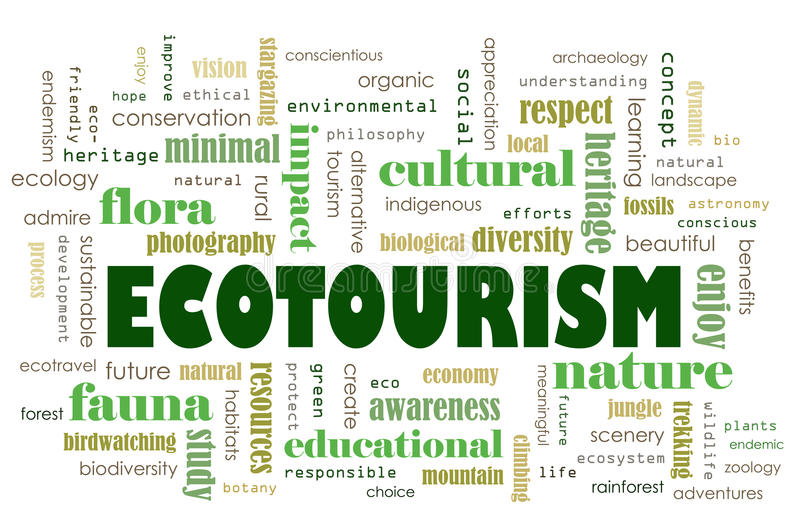 Download Ecotourism concept stock illustration. Illustration of culture - 29503667