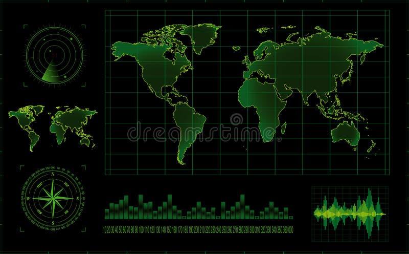 Ecrã de radar