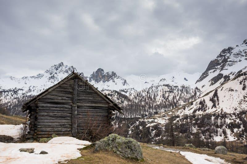 Ecrins Nationaal Park royalty-vrije stock afbeelding