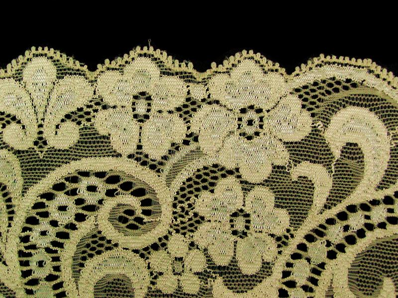 Download Ecru Floral Lace Band Royalty Free Stock Images - Image: 11739119