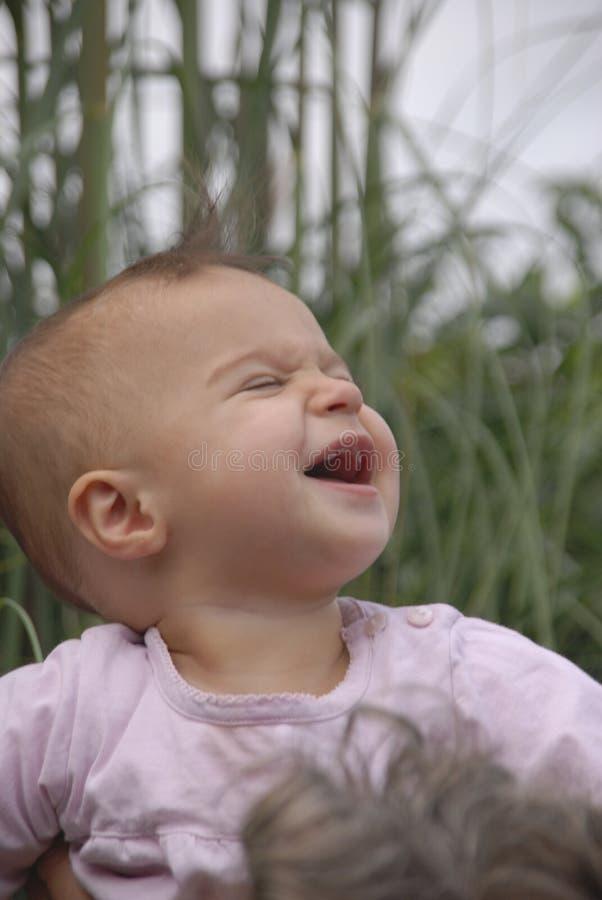 Ecstatic baby