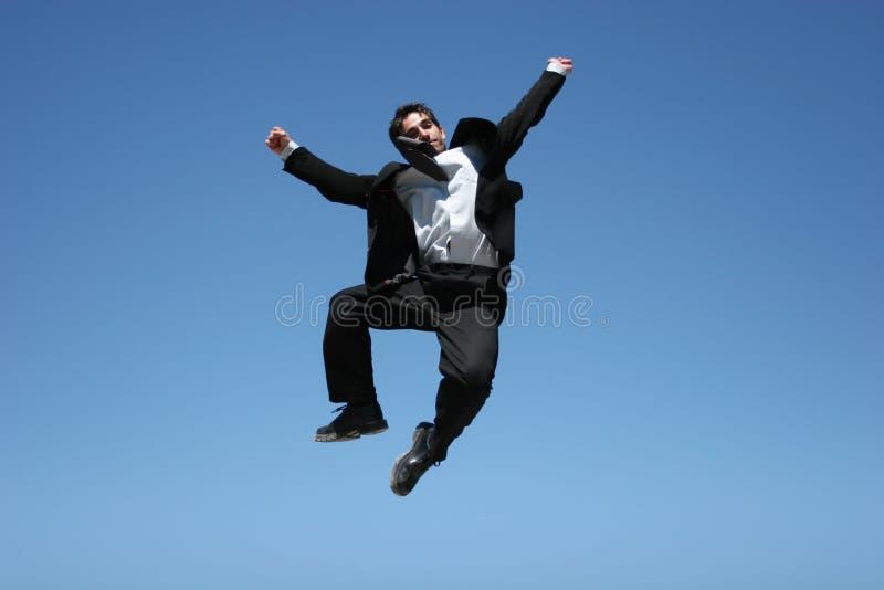 Ecstatic Businessman Stock Photos