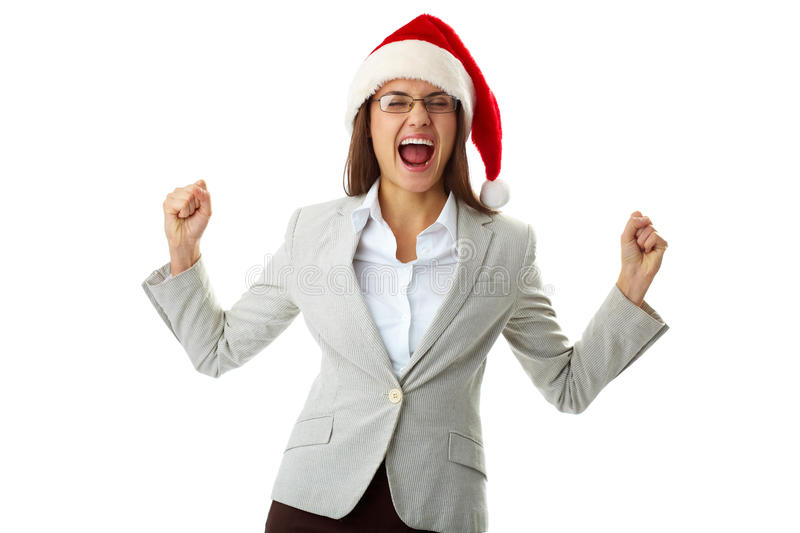 Ecstatic Exclamation Royalty Free Stock Images