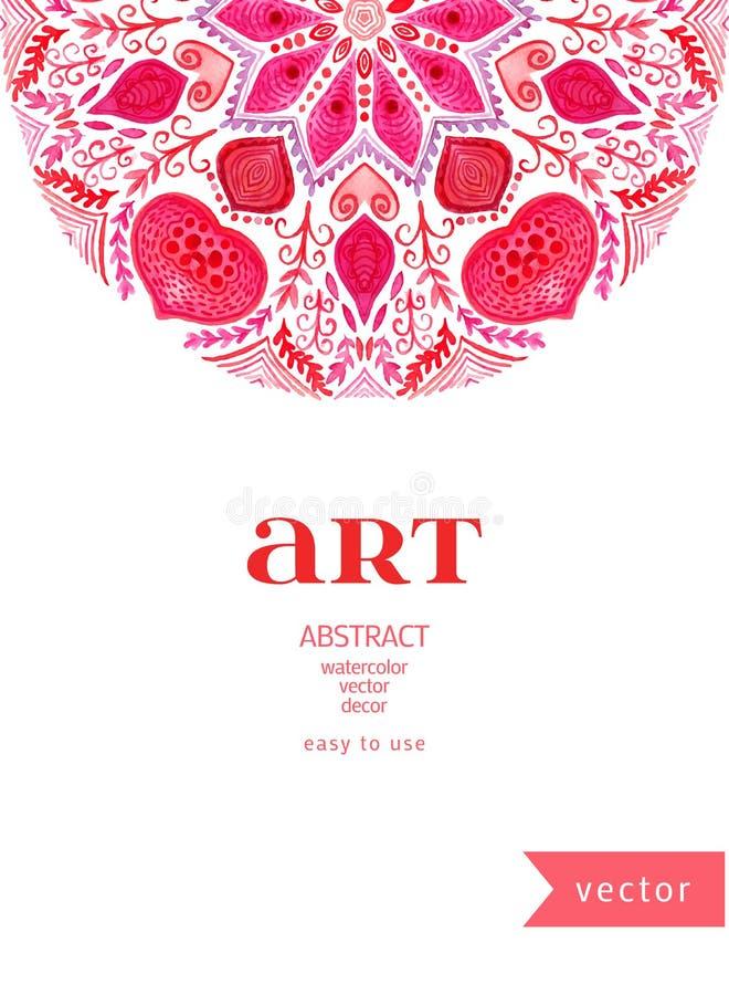 Ector葡萄酒装饰,标签,框架,边界,花卉设计元素 抽象传染媒介模板设计,小册子,页,邀请, l 库存例证
