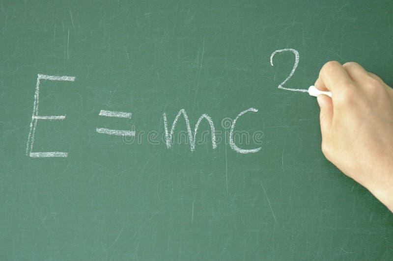 Ecuación imagen de archivo libre de regalías
