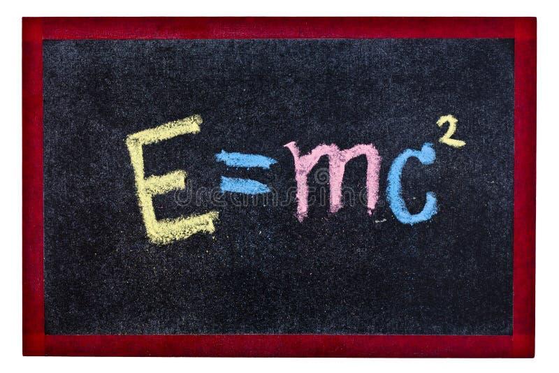 Ecuación de la ciencia fotografía de archivo