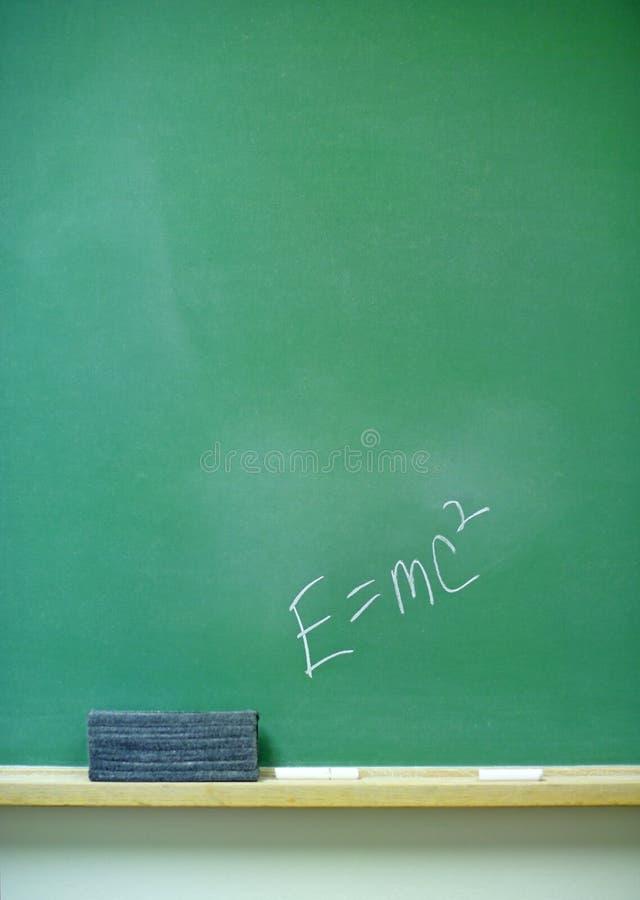Ecuación E=mc2 imagenes de archivo