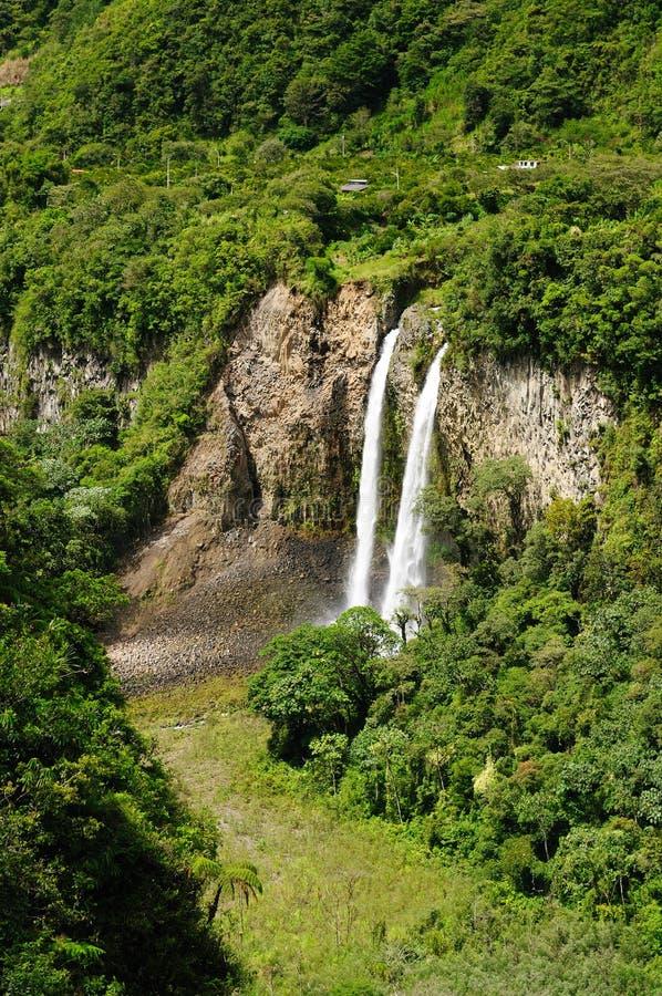 Free Ecuador, Banos Waterfall Royalty Free Stock Photo - 27125965