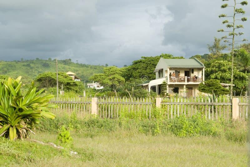 ecuador dżungli montanita domu fotografia royalty free