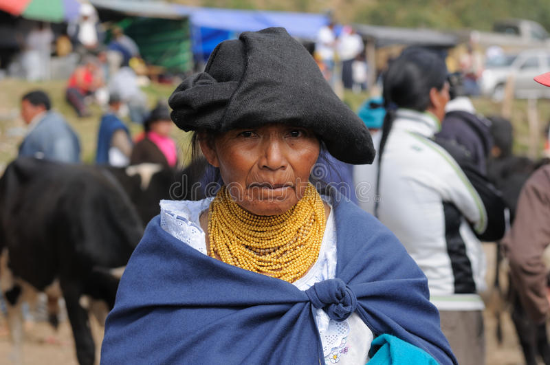 Ecuador etnisk latinsk kvinna arkivbilder