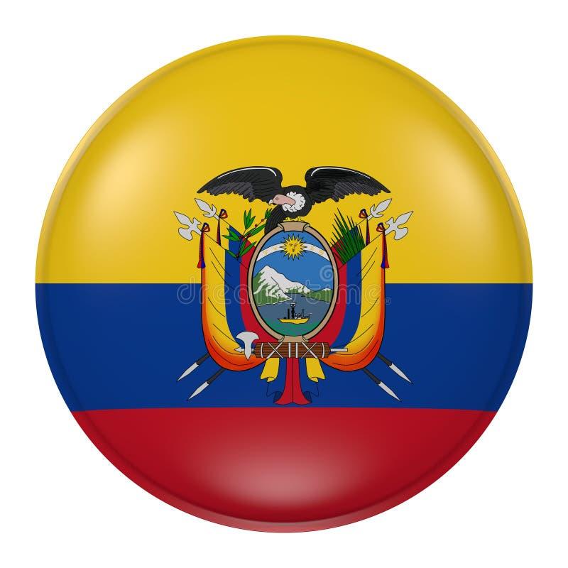 Ecuador knapp stock illustrationer