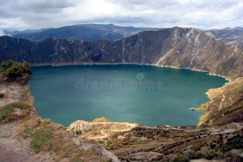 Ecuador Landscape Royalty Free Stock Photo