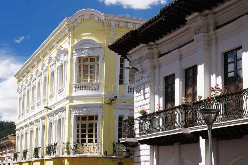 Ecuador, opinión sobre Quito fotos de archivo libres de regalías