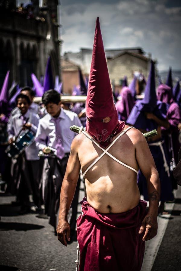 Ecuador påsk fotografering för bildbyråer