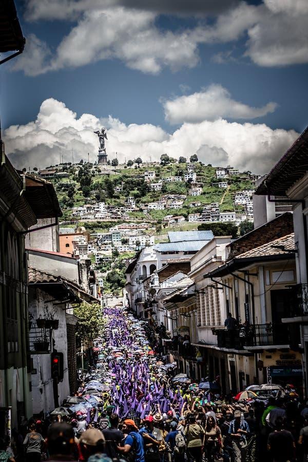 Ecuador påsk arkivfoto