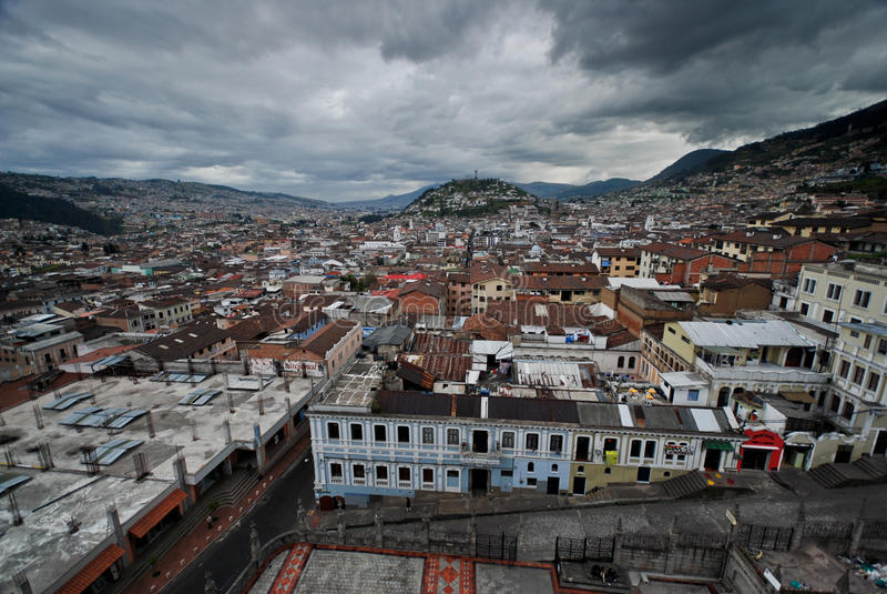 ecuador Quito obraz royalty free