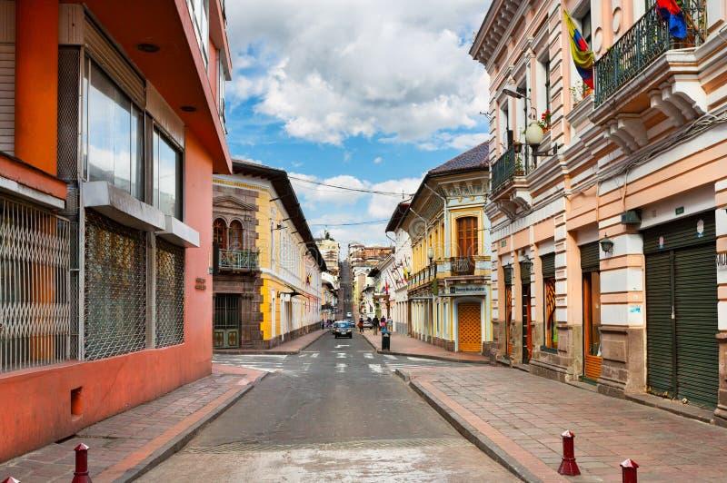 ecuador quito fotografering för bildbyråer