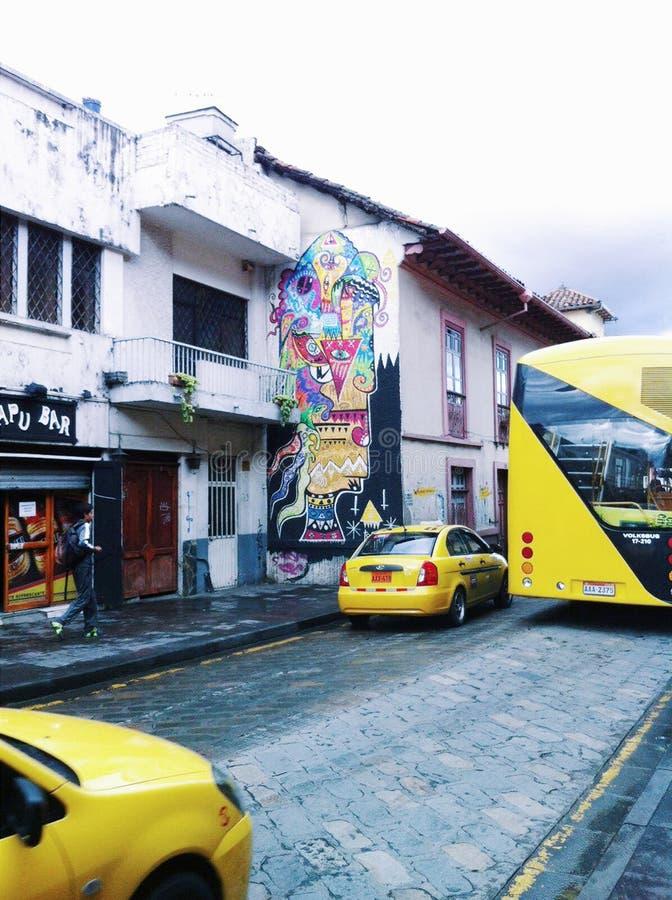 Ecuador transport royaltyfria bilder