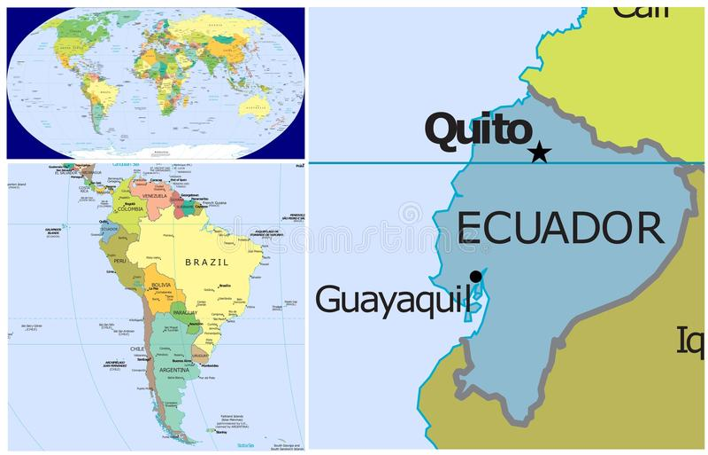 Ecuador world stock illustration illustration of arctic 83439119 world map and close up of ecuador gumiabroncs Images
