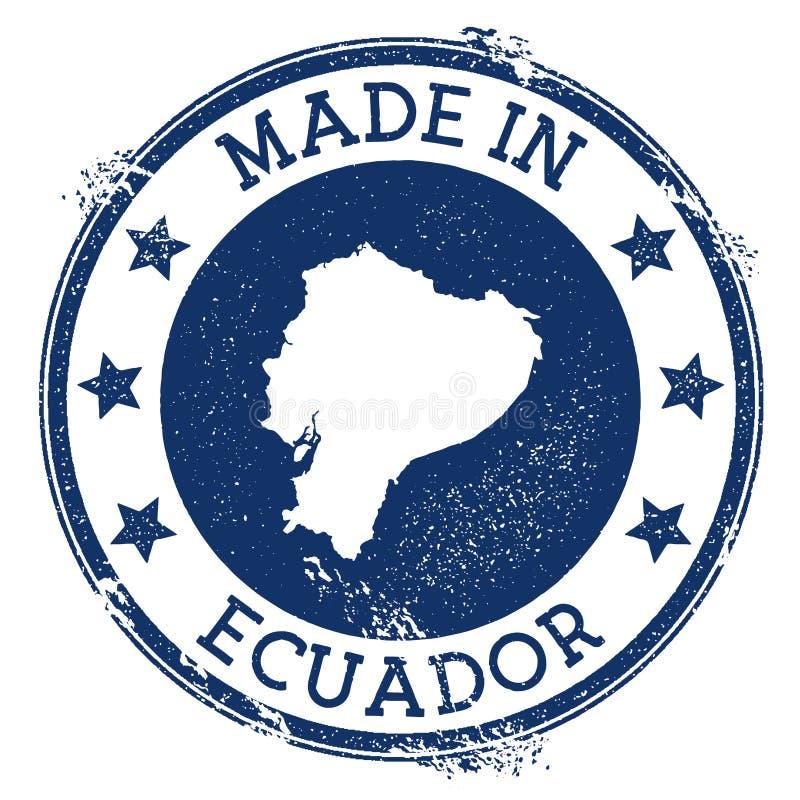 ecuador zrobił znaczkowi ilustracji