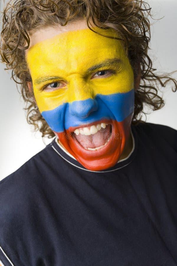 ecuadorian de garçon criant photos stock