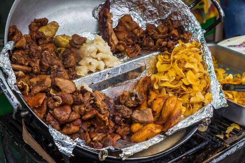 Ecuatoriaans Typisch Voedsel royalty-vrije stock fotografie