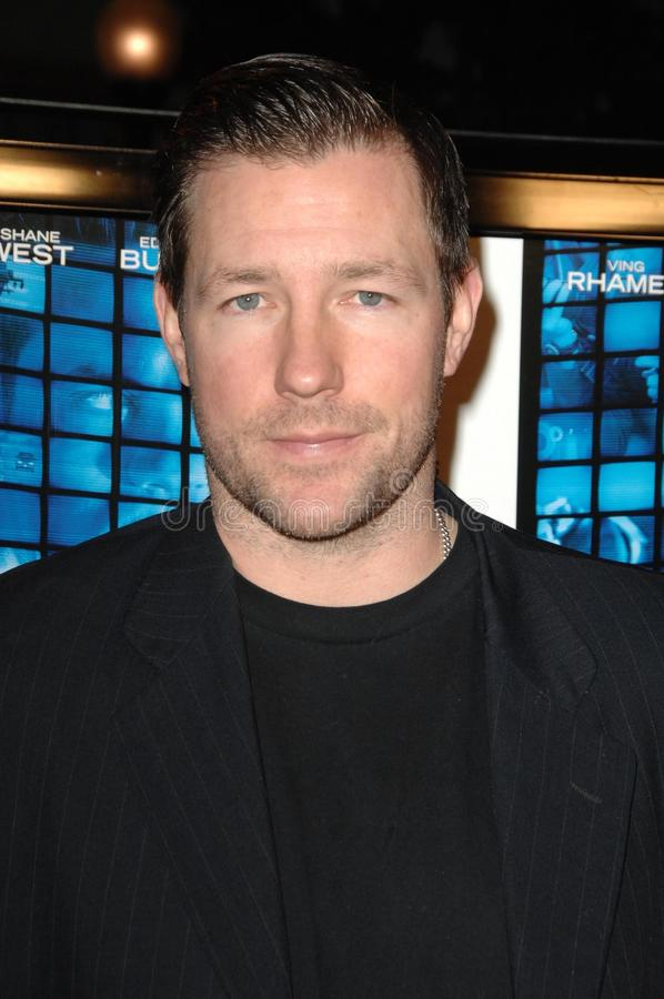 Ed Burns at the World Premiere of 'Echelon Conspiracy'. Paramount Theatre, Hollywood, CA. 02-25-09 stock photography