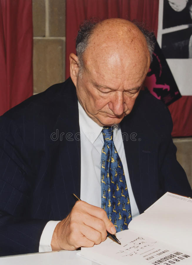 Ed Koch Editorial Stock Photo