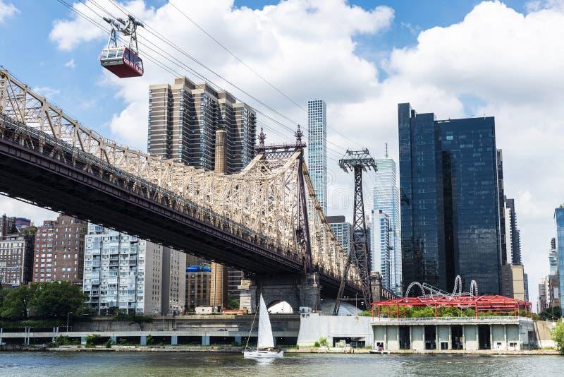Ed Koch Queensboro most w Manhattan, Miasto Nowy Jork, usa zdjęcia stock
